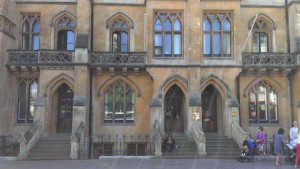 UK Municipal Bond Agency's offices located next to Westminster Abbey